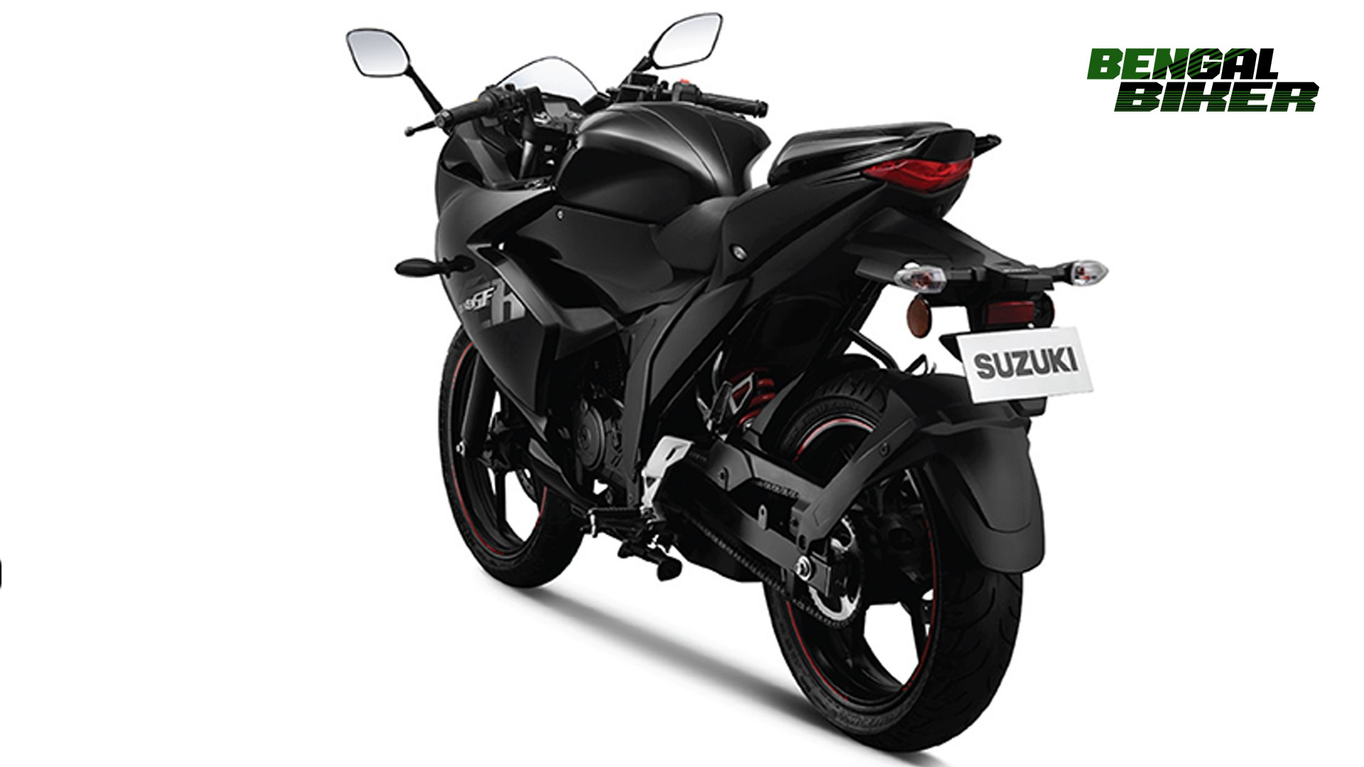 suzuki gixxer sf fi abs back