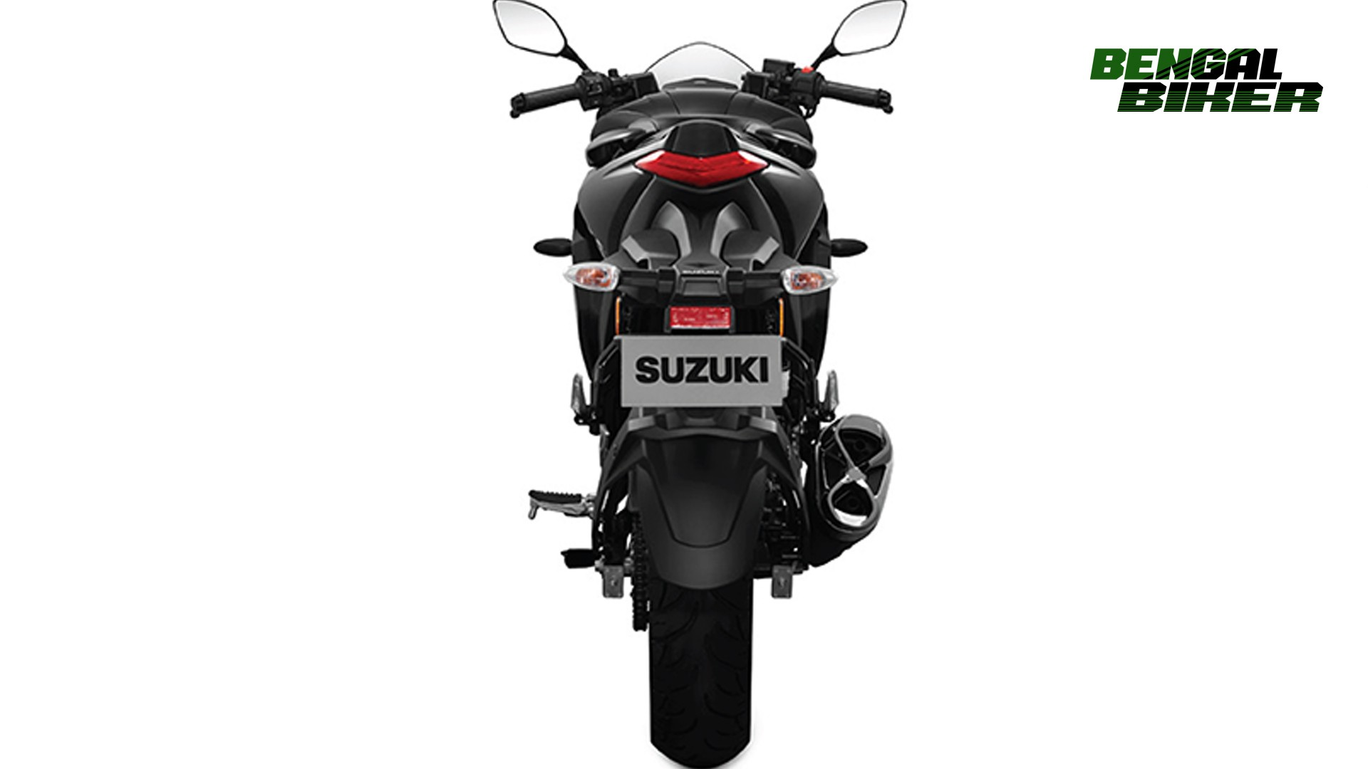 suzuki gixxer sf fi abs back side