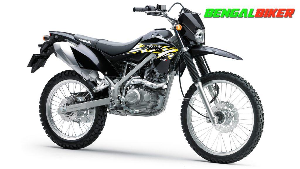 Kawasaki KLX150L black side