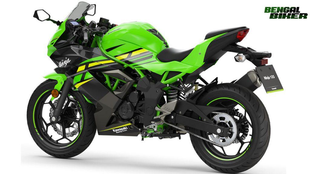 Kawasaki Ninja 125 green colors price in Bangladesh