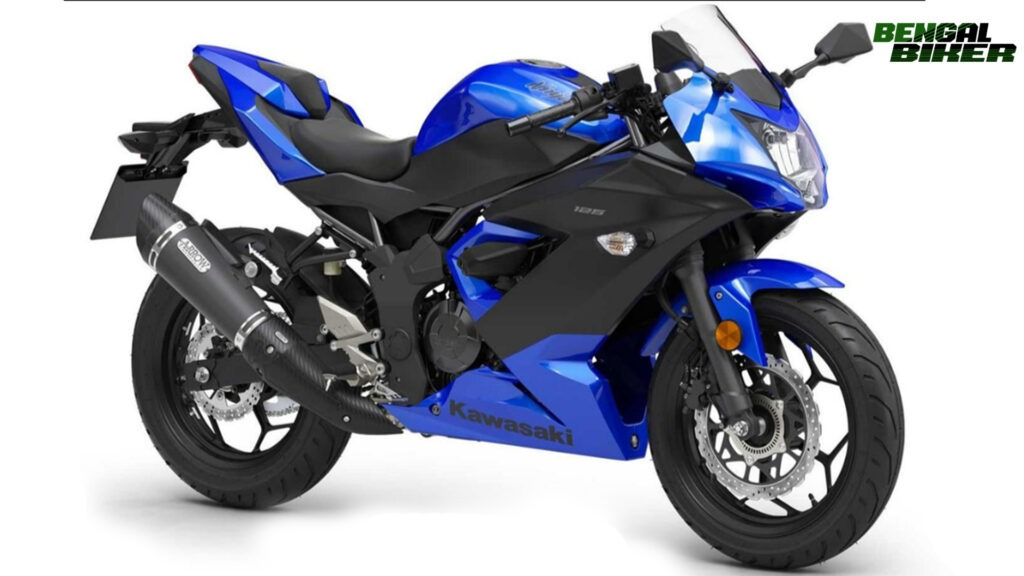 Kawasaki Ninja 125 Blue
