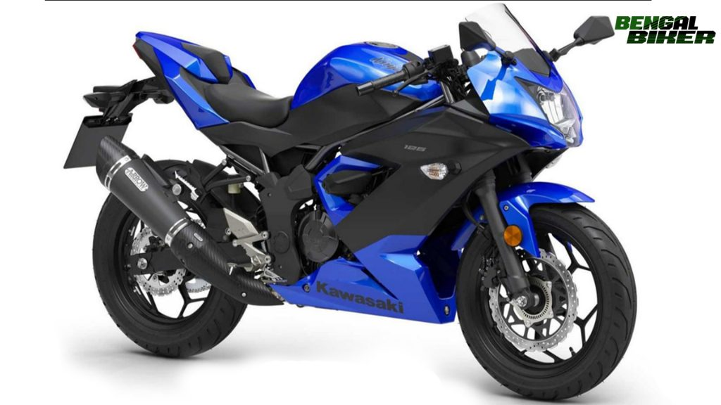 Kawasaki Ninja 125 blue colors bangladesh