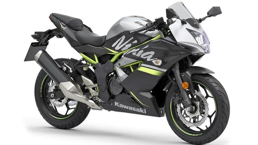 Kawasaki Ninja 125 silver colors