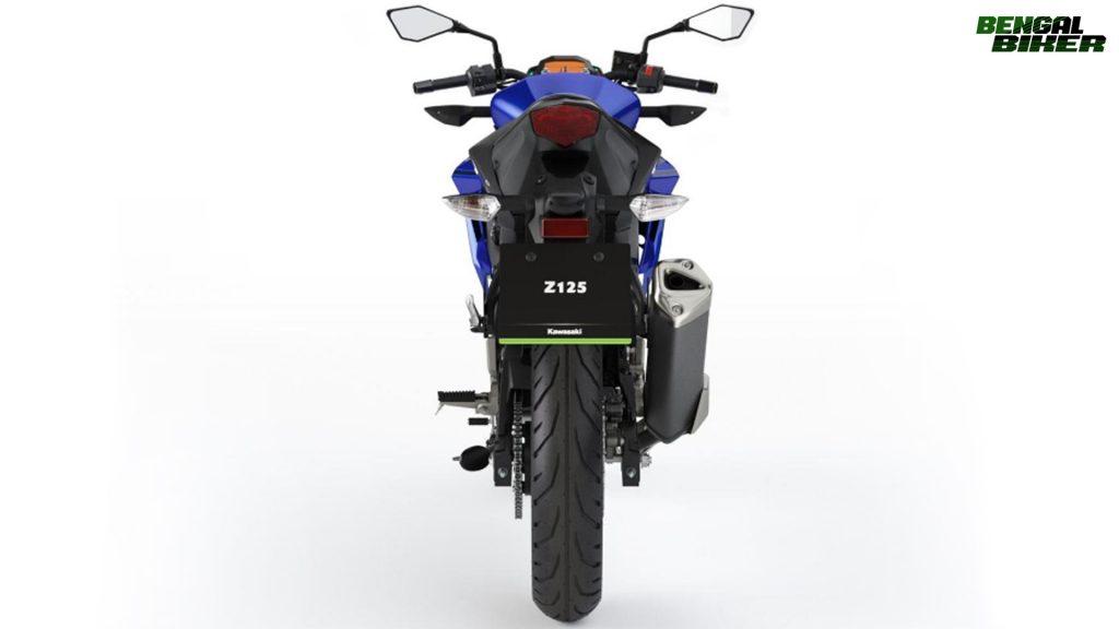 Kawasaki Z125 in Bangladesh 2019 blue colors