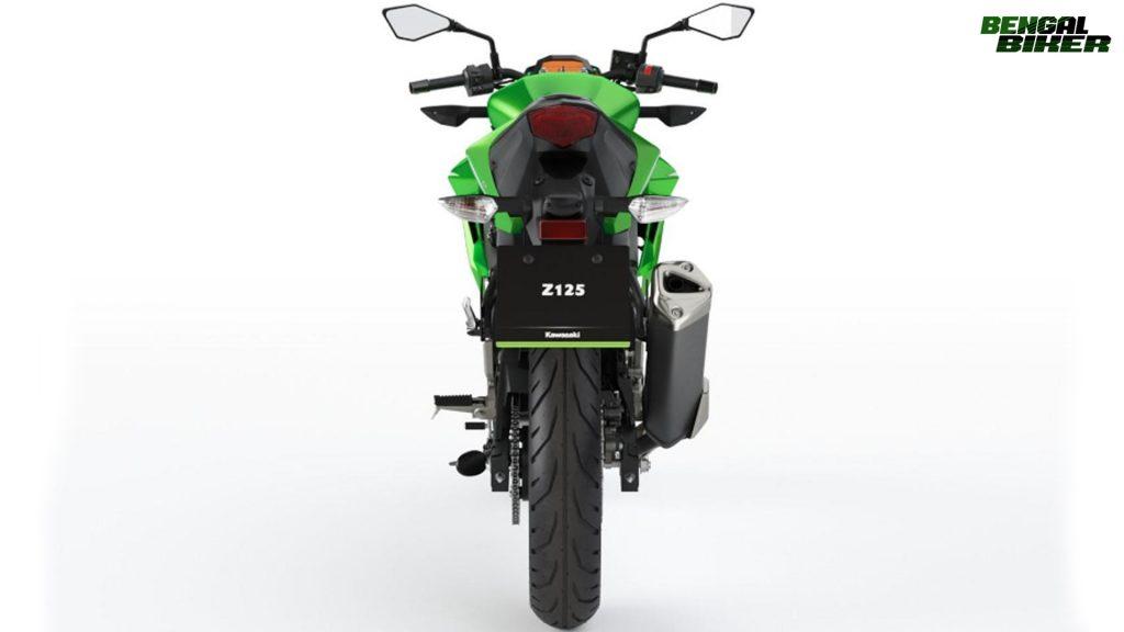 Kawasaki Z125 in Bangladesh 2019 green colors