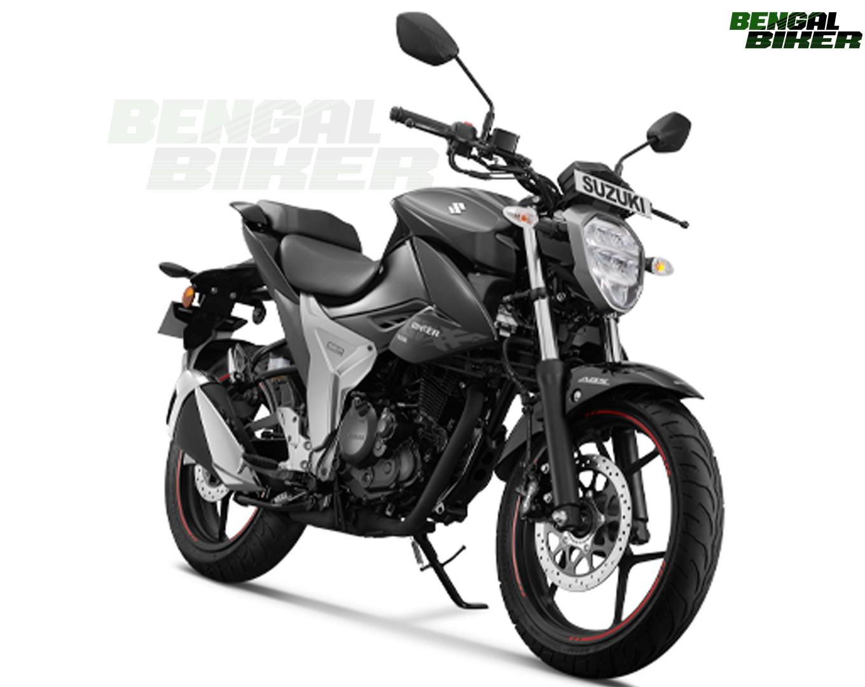 suzuki gixxer 155 abs 2019 new model black colour
