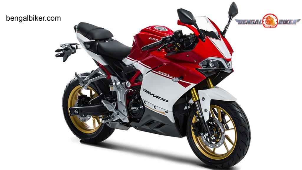 Demon 150 GR red white
