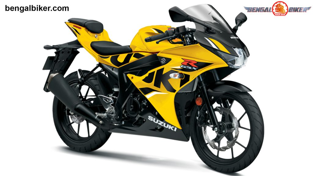 GSX-R 150 yellow colors Bangladesh
