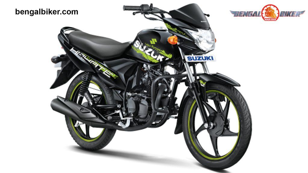 Suzuki Hayate Special Edition black