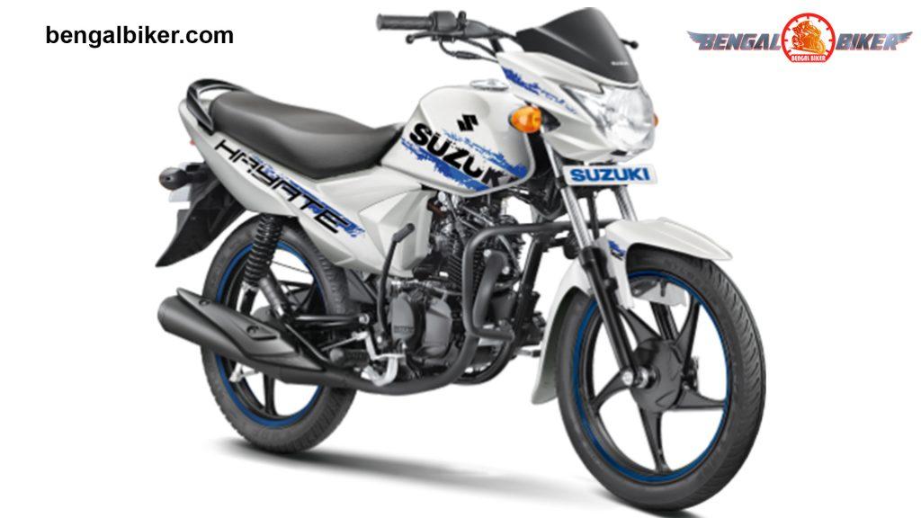 Suzuki Hayate 110 Special Edition White