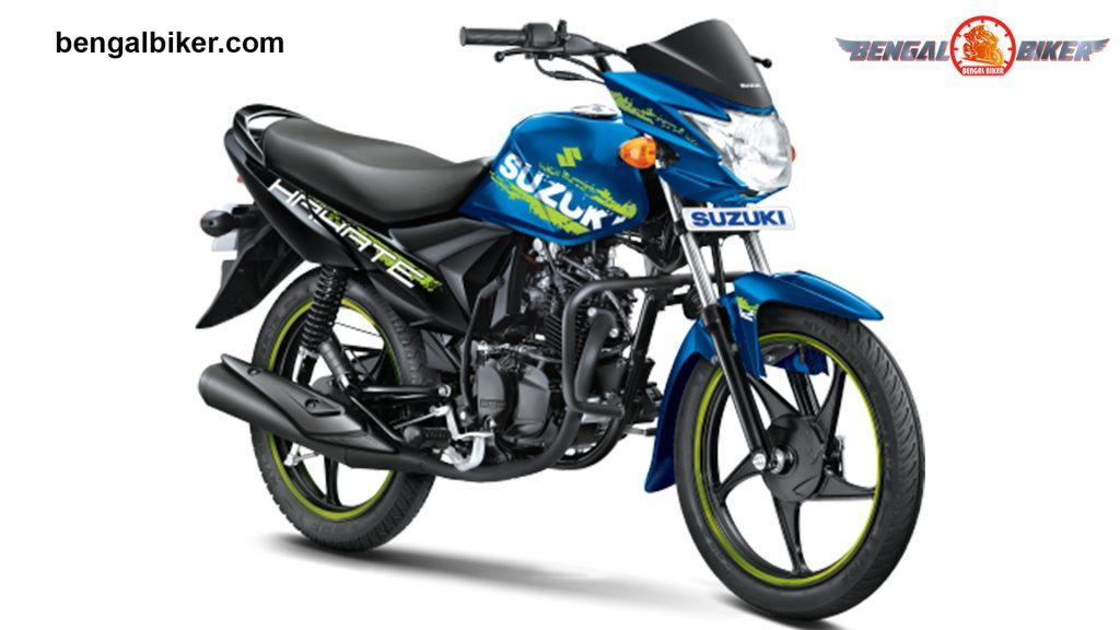 Suzuki Hayate Special Edition Blue