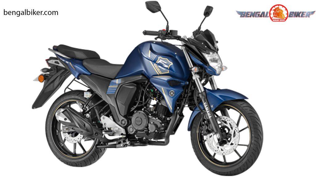 Yamaha FZS FI V2.0 (Double Disc) blue