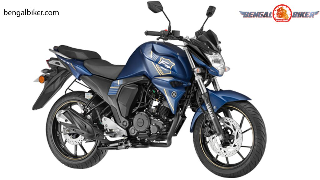 Yamaha FZS FI V2.0 (Double Disc) matt blue