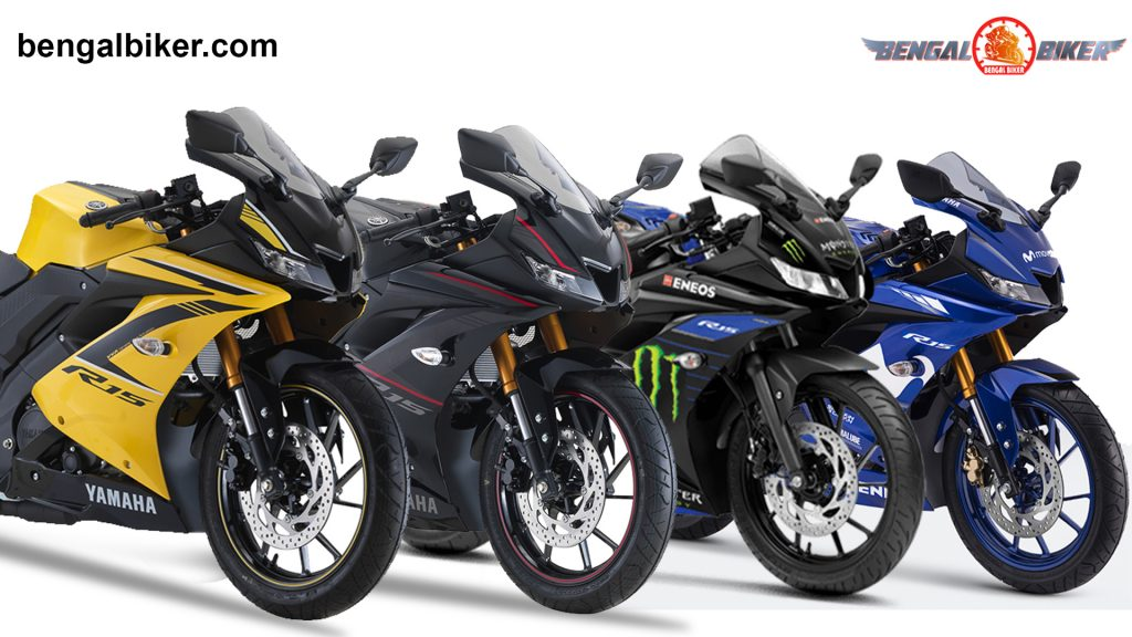 Yamaha R15 v3 Red, Blue, Black, Yellow price in Bangladesh