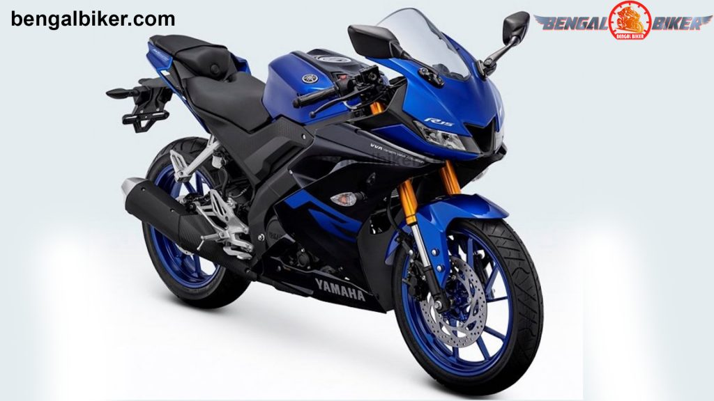 Yamaha R15 v3 blue black price in Bangladesh