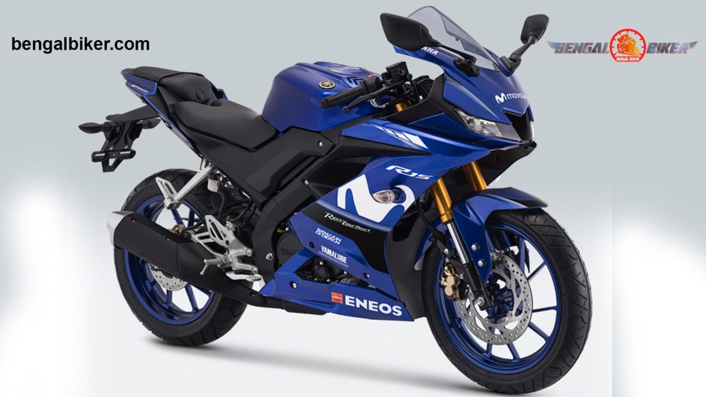 Yamaha R15 v3 monster blue black