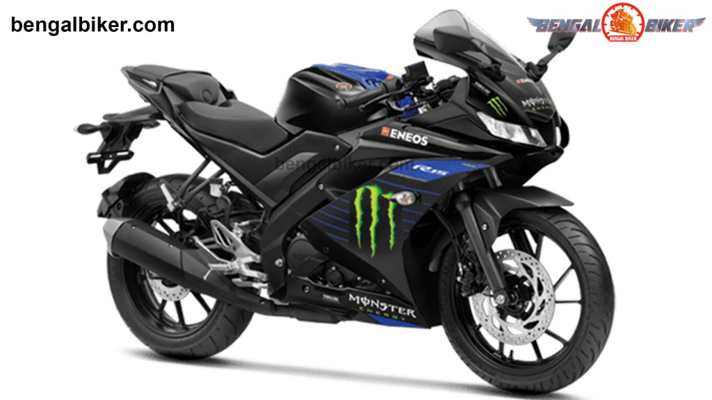 Yamaha R15 v3 monster se blue black price in Bangladesh