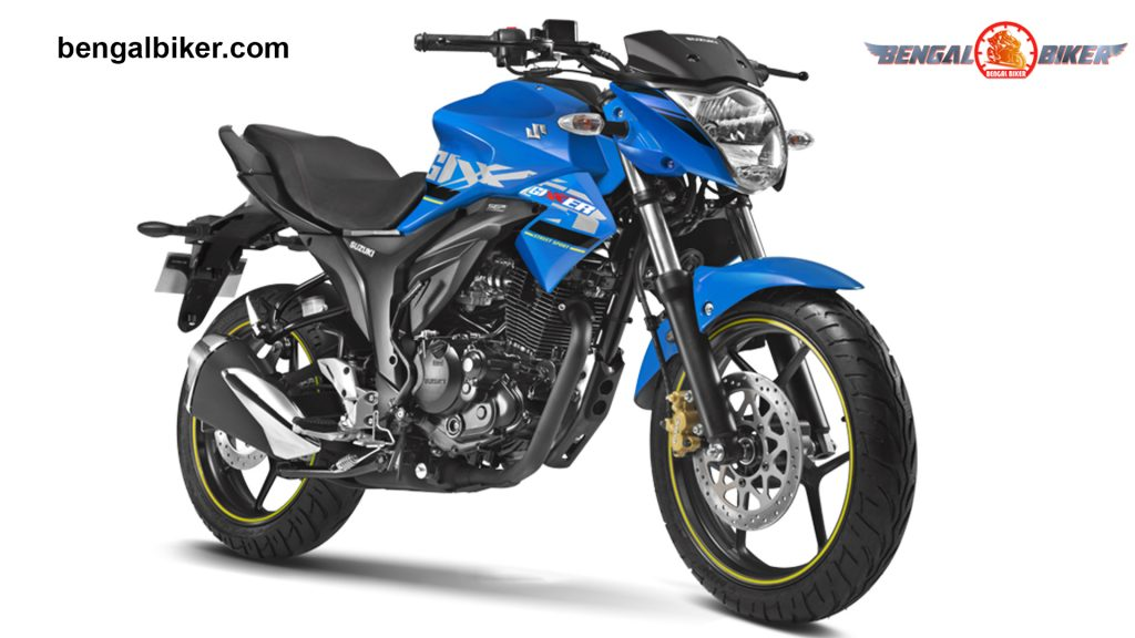 Suzuki Gixxer 155 blue black