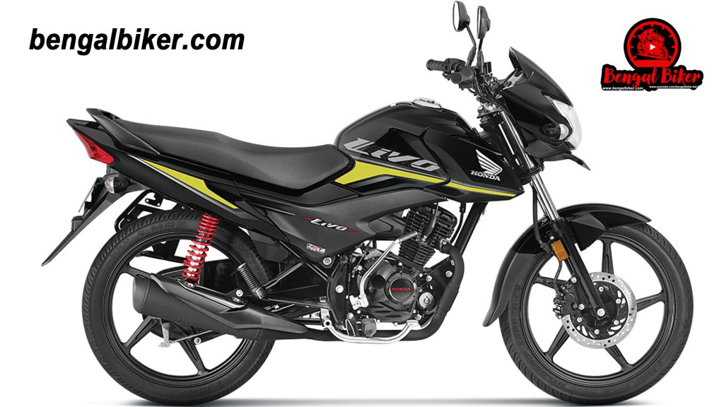 honda livo 110 black colors