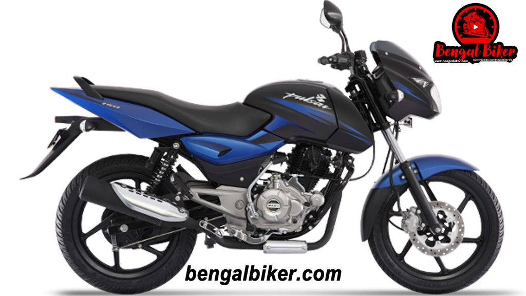 Bajaj Pulsar 150 SD black blue 2020 price