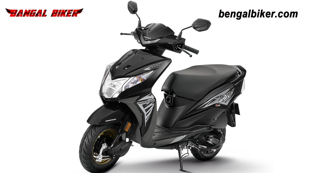 Honda Dio 110 Black colors