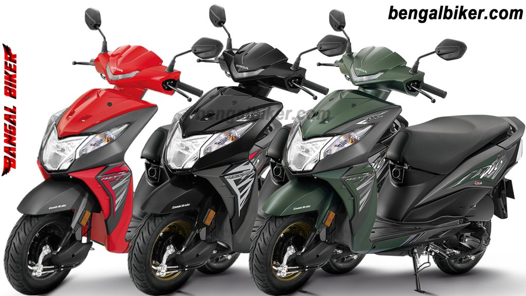 Honda dio all colors