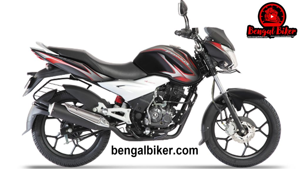bajaj discover 125 st red-black