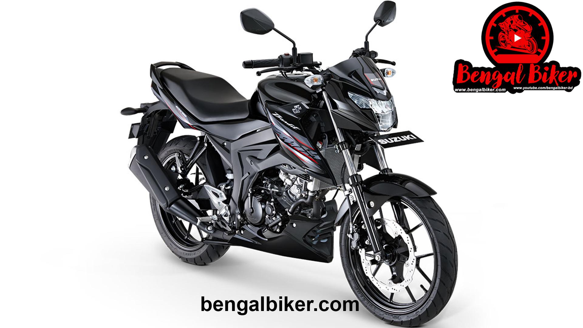 Suzuki GSX Bandit 150 black
