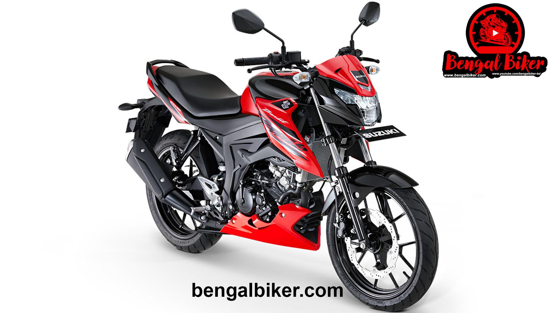 Suzuki GSX Bandit 150 red