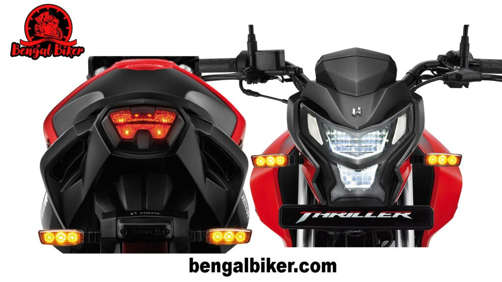 Hero Thriller Headlight and Tail Light