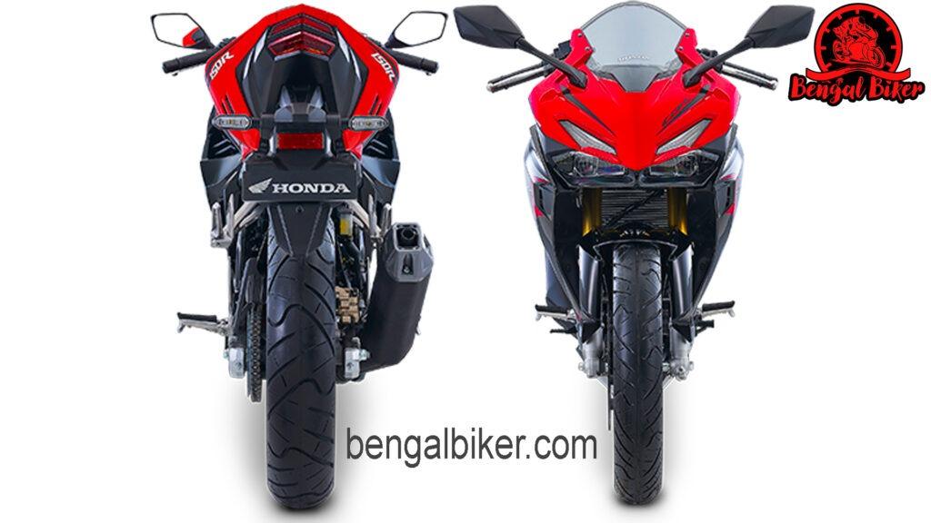 Honda cbr 150 2021 font and back