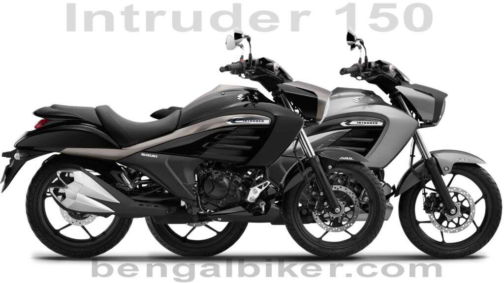 Suzuki intruder 150 black and gray