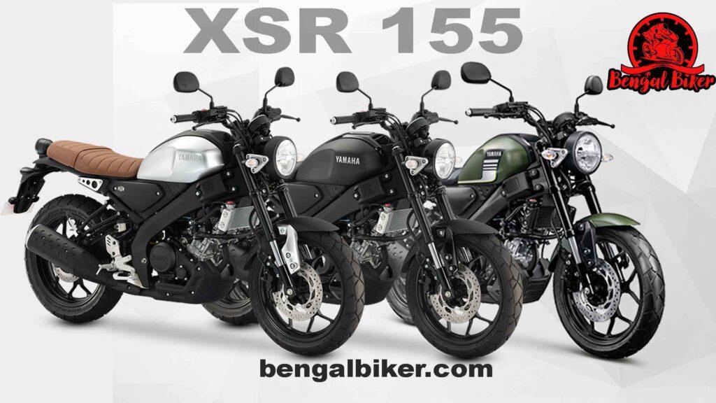 Yamaha XSR 155 all colors
