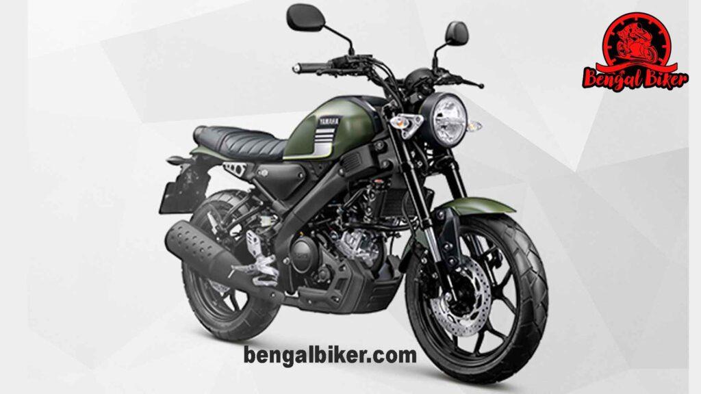 Yamaha XSR 155 green