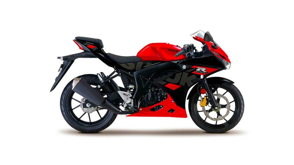 suzuki gsx r 150 abs red