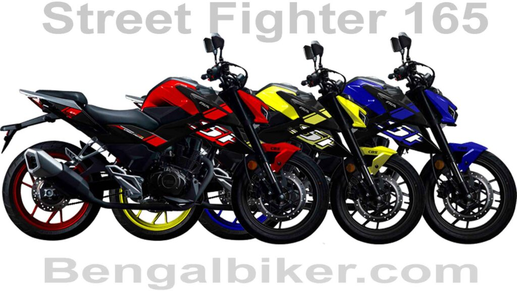 FKM street Fighter 165 all colors
