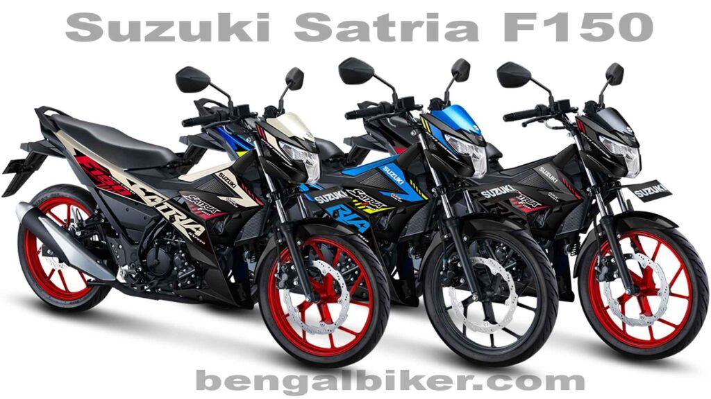 Suzuki Satria F150 all color