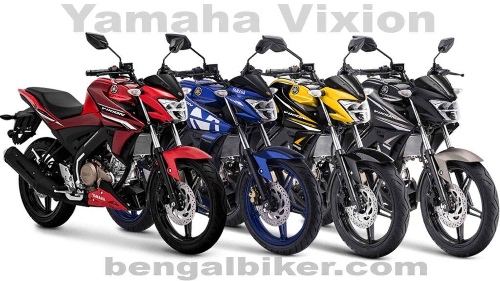 Yamaha Vixion all color