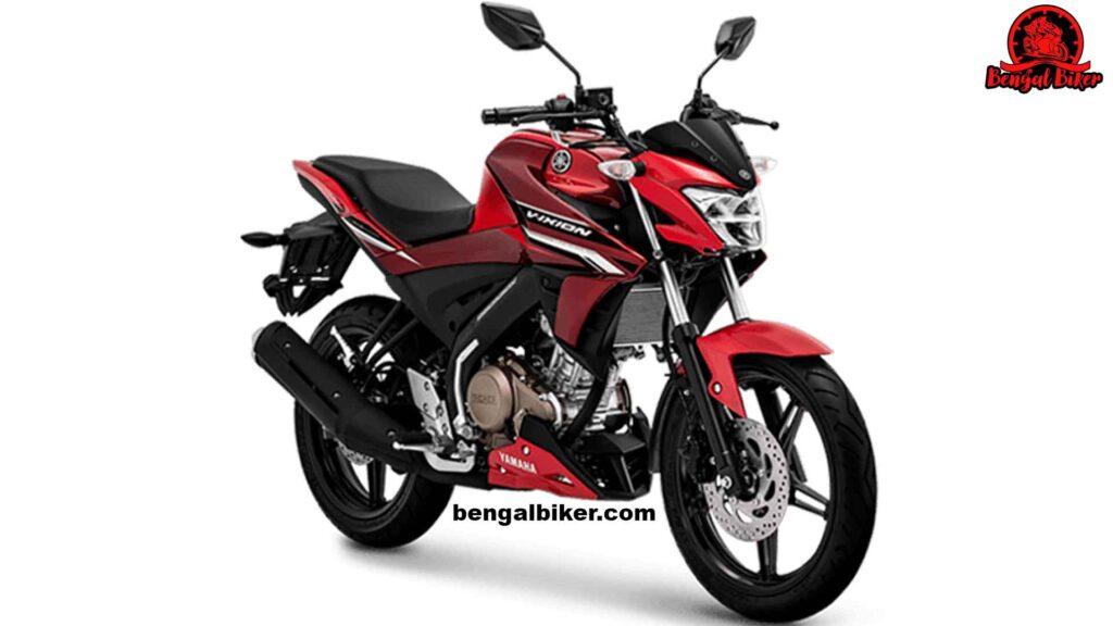 Yamaha Vixion red black
