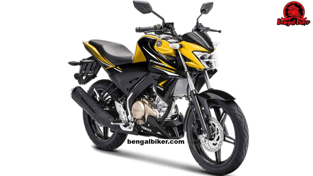 Yamaha Vixion yellow