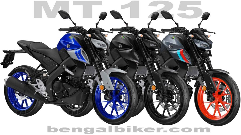 Yamaha mt 125 blackbluegray