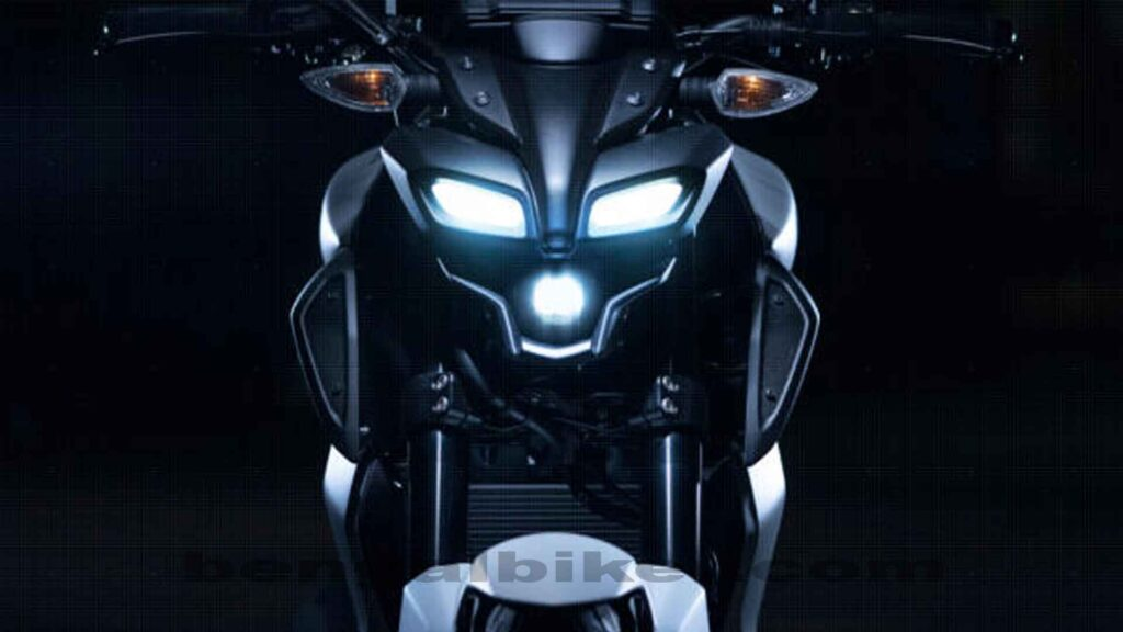 Yamaha mt 125 head light