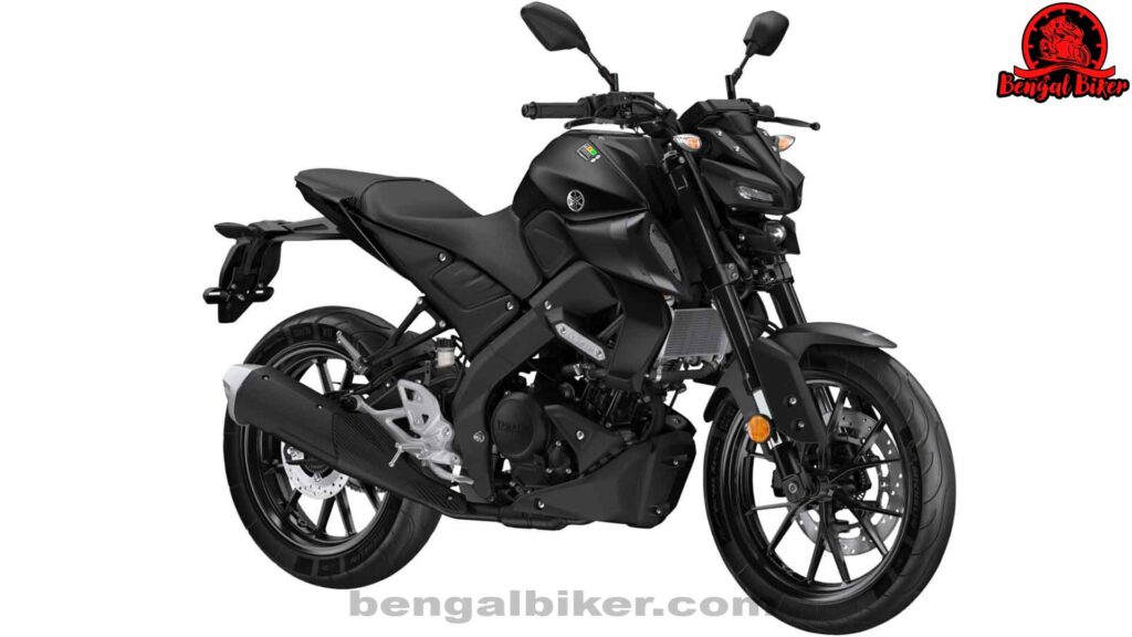 Yamaha mt 125 matte black